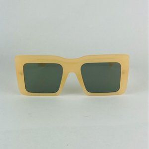 awesome oversized square straight brow sunglasses